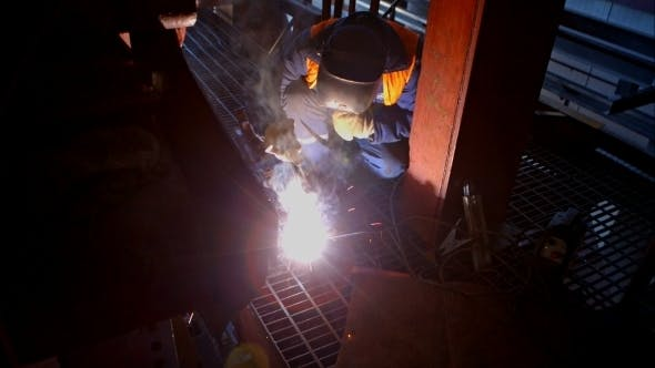 Thumbnail for Welding Working On Industrial Enterprise