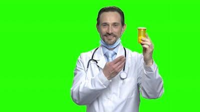 Doctor Advertising Pills