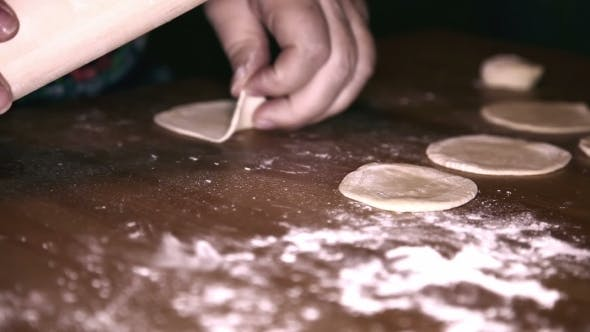 Thumbnail for Preparing Dough To Make a Varenik