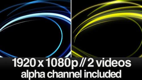 HD Light Streaks - Series of 2