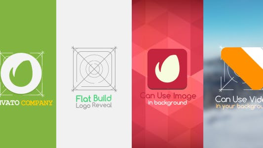 Thumbnail for Flat Build Logo Reveal