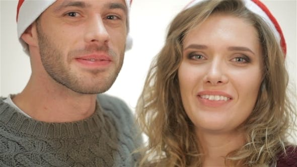 Thumbnail for Cute Couple Says Happy New Year