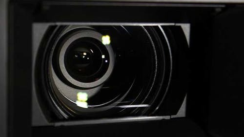 Lens Camcorder Opens
