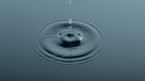 Thumbnail for Drop Of Water Rippling The Surface