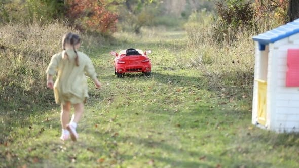 Thumbnail for Child Running Outdoors