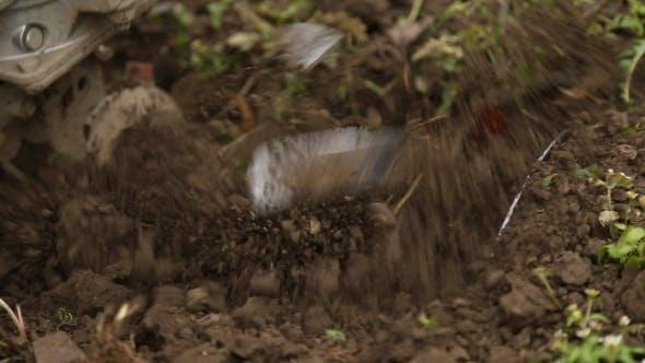 Bodenbearbeitung Grubber