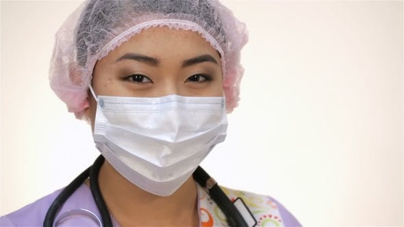 Thumbnail for Young Asian Doctor Woman
