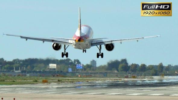 Thumbnail for Jet Plane Approaching Landing
