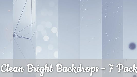 Thumbnail for Bright Backgrounds - 7 Pack