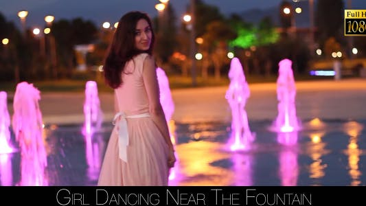 Cover Image for Girl Dancing Near The Fountain