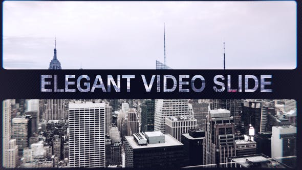 Elegant Video Slide