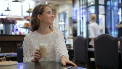 Girl In a Bakery