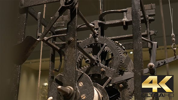 Ancient Cogwheel Mechanism