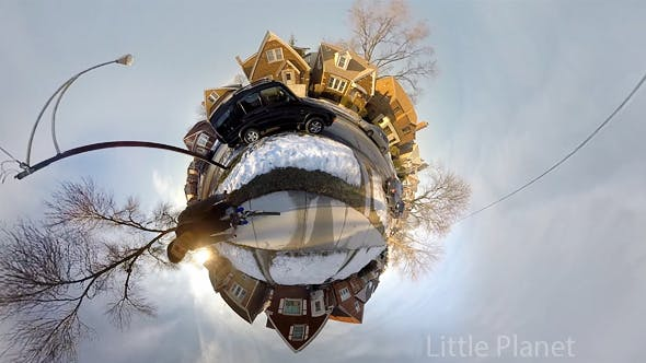 Riding a Bicyle on a Little Planet
