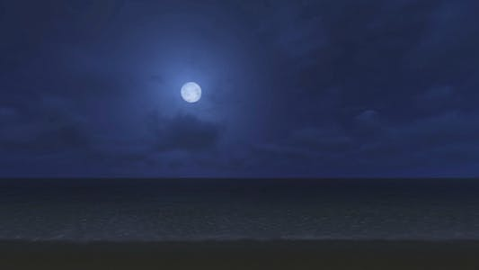 Thumbnail for Full Moon - White Moon - The Beach