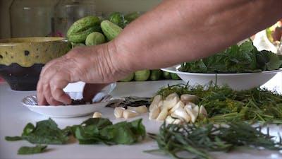 Grandma's Marinated Cucumbers