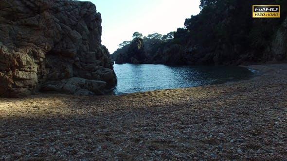 Thumbnail for Unspoiled Mediterranean Beach Aerial Shoot