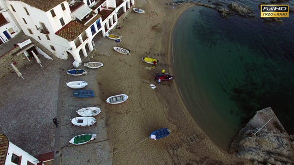 Thumbnail for Mediterranean Fishing Village Vertical