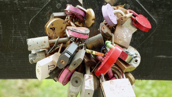 Thumbnail for A lot of Padlocks on the Bridge