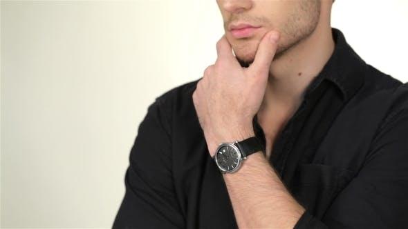 Thumbnail for Pensive Man