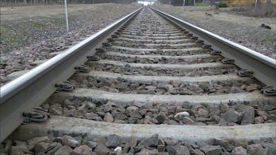 Rail Tracks of the Train