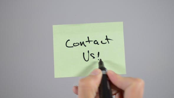 Thumbnail for Contact Us, Sticky Notes  (2 in 1 )