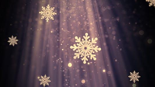 Thumbnail for Christmas Snowflakes 1