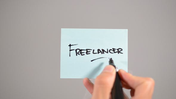 Thumbnail for Freelancer, Stick Note (2 in 1)