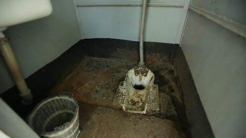 Dirty Disgusting Toilet