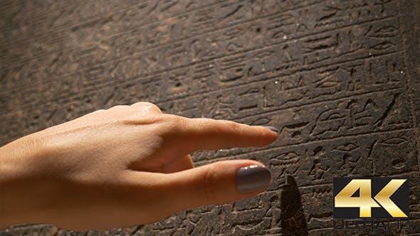 Thumbnail for Reading Ancient Hieroglyphs Inscription