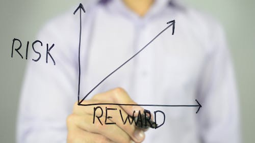 Risk  and Reward in Business Graph,