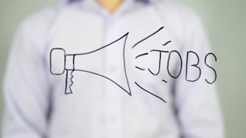 Jobs Announcement,  Illustration