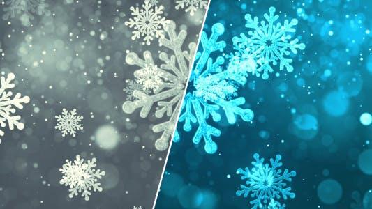 Thumbnail for Weihnachten Schneeflocken
