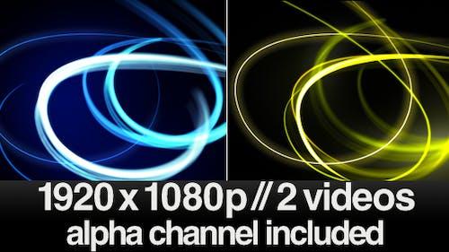 HD Fast Light Streaks  - Series of 2