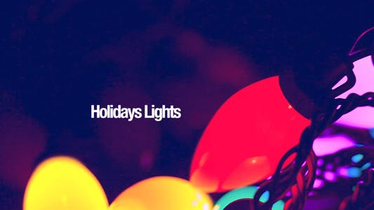 Thumbnail for Holiday Lights