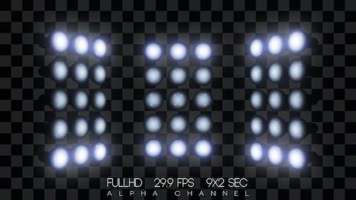 Scene Headlamps Flashing (9-Pack)