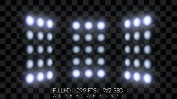 Thumbnail for Scene Headlamps Flashing (9-Pack)
