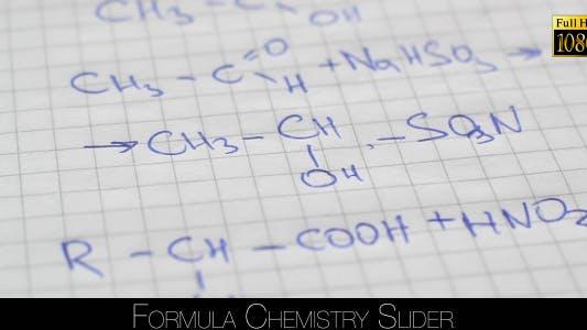 Cover Image for Formula Chemistry