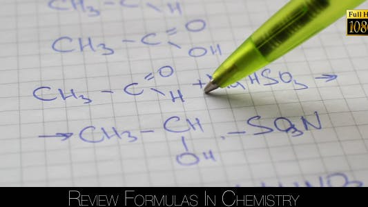 Thumbnail for Review Formulas In Chemistry