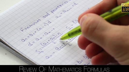 Thumbnail for Review Of Mathematics Formulas 2