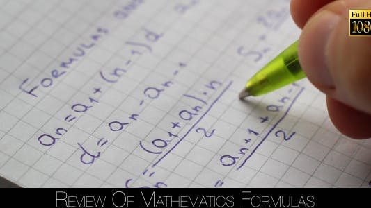 Thumbnail for Review Of Mathematics Formulas 4