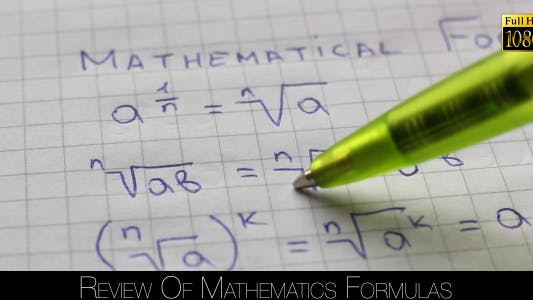 Thumbnail for Review Of Mathematics Formulas 8