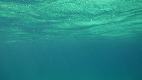 Thumbnail for Wavy Sea Surface Underwater