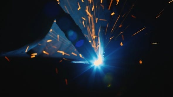 Thumbnail for Electric Welding The Molten Metal