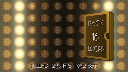 Panel Headlamps Warm (16-Pack)