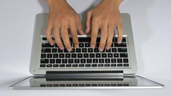 Thumbnail for Work, Laptop Typing