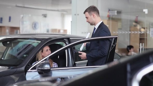 Thumbnail for Salesman Explains The Procedure Of Buying a Car