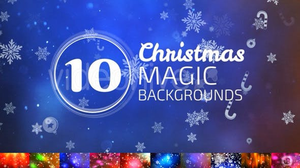 Thumbnail for 10 Christmas Backgrounds