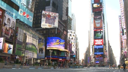 Thumbnail for Time Square in New York.
