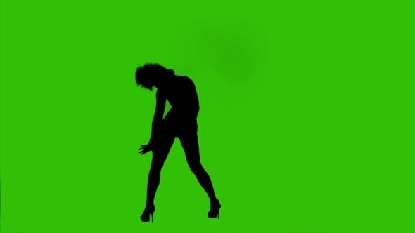 Thumbnail for Dark Silhouette Of a Dancing Girl